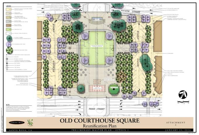 courthouse square reunified � more than the sum of two